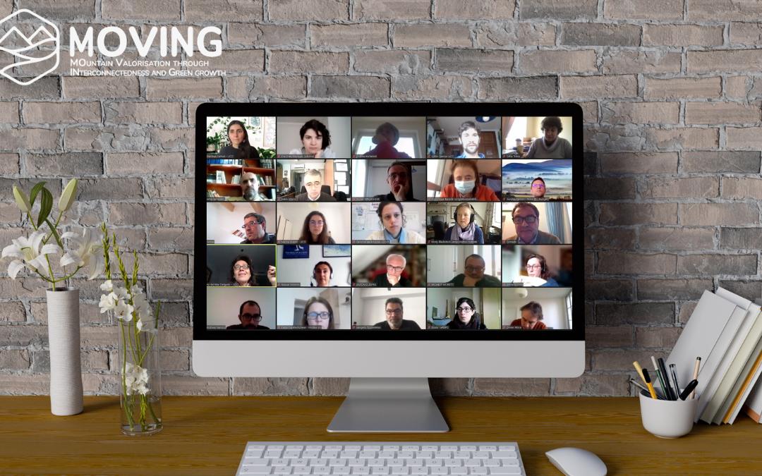 MOVING partners meet online